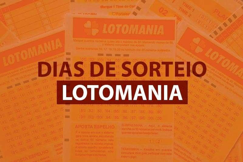 Dias de sorteio na Lotomania